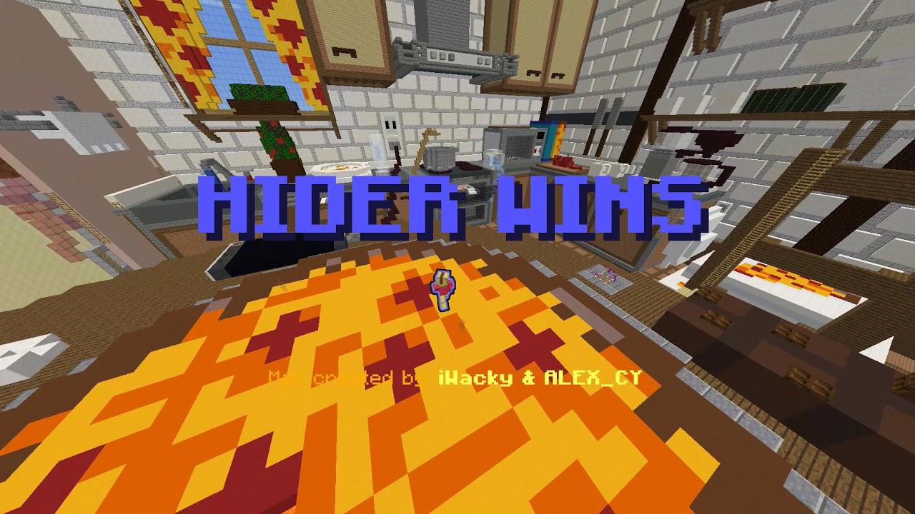 Майнкрафт мини игра прятки играть онлайн бесплатно