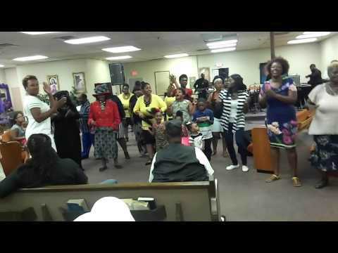 Pastor Mary Washington and the Girls live in okc pt.2