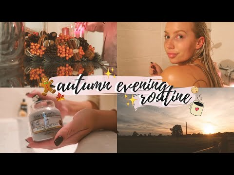 ULTIMATE Cosy Fall Evening Routine 2019 | Elle Darby