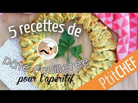 5-recettes-pour-l'apéritif-avec-de-la-pâte-feuilletée---ptitchef.com