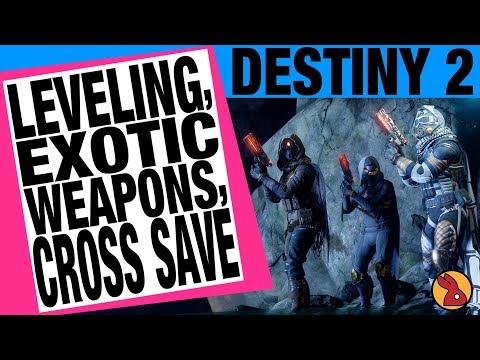 Destiny 2 TWAB Talk - Leveling - Exotic Changes - Cross Save