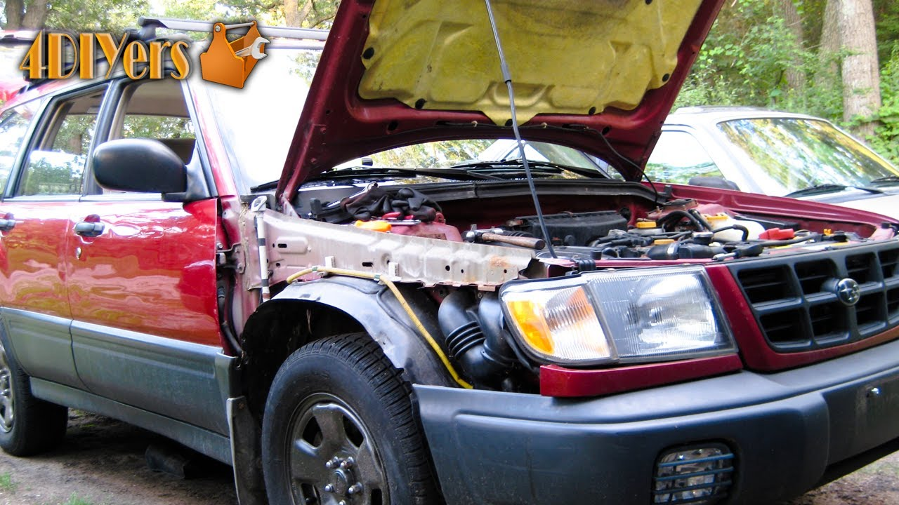 How To Remove A Subaru Forester Front Fender Antenna