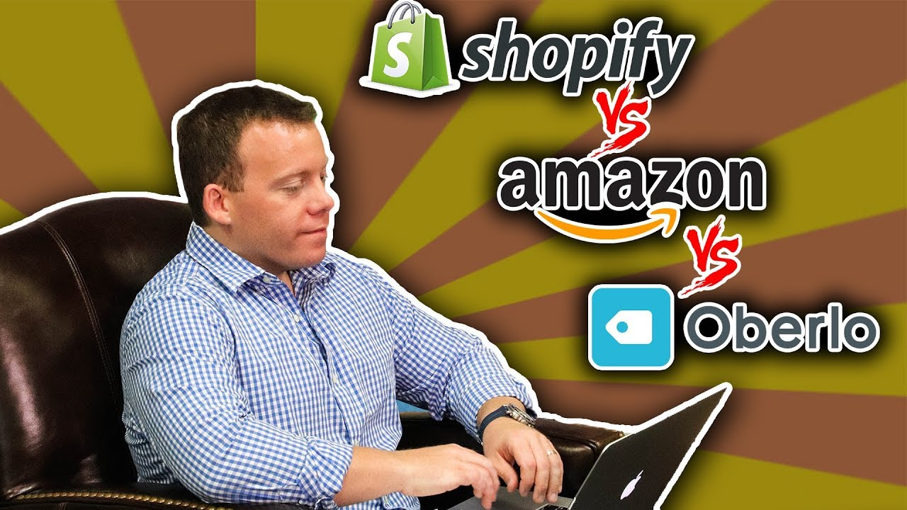 Drop Shipping on Shopify ➡️ Amazon vs  Oberlo vs  Domestic Suppliers