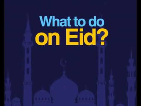 What to do on Eid | Rohingya Learning Center by Saya AK