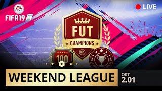 LIVE FIFA19 WEEKEND LEAGUE | KOEN WEIJLAND | OKT 2.01
