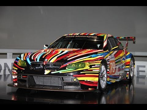 bmw art car collection bmw museum bis youtube. Black Bedroom Furniture Sets. Home Design Ideas
