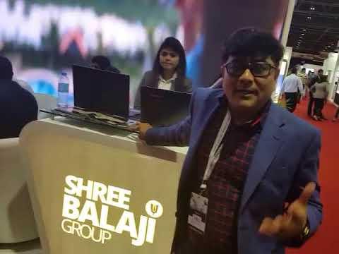 Mr Ashish Shah (Group Chairman Shree Balaji Group At CREDAI Dubai Property Show,