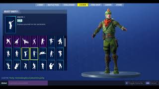 FORTNITE Rex Skin