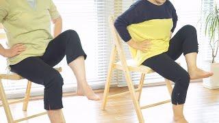 椅子ヨガで気分転換60歳からのヨガ フルレッスン9分