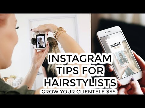Grow your Instagram $$$ | Tips for Hairstylists w/ @jamiedanahairstylist