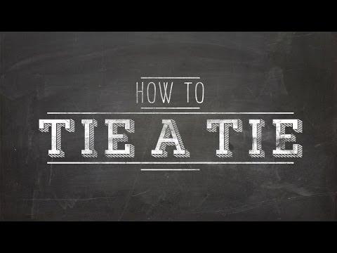How To Tie Tie Beginners Guide
