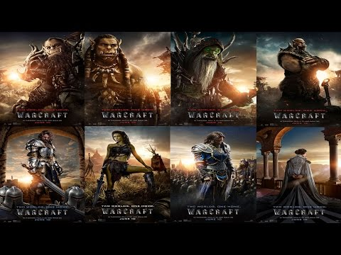 New Warcraft character posters - Collider