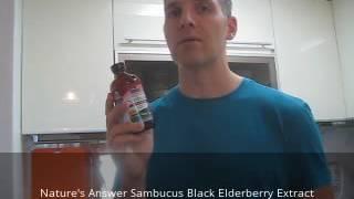 Nature's Answer Sambucus Black Elderberry Extract Review