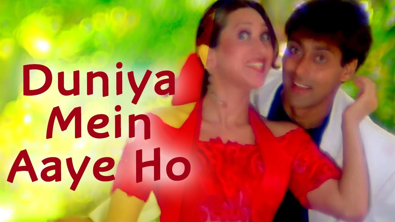 Download Duniya Mein Aaye Ho Love Kar Lo - Salman Khan - Karishma Kapoor - Judwaa Songs - Bollywood 90s Song