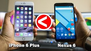 10 Reasons Why The Nexus 6 is Better Than iPhone 6 Plus