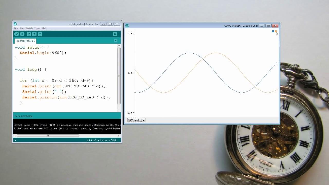 Arduino Serial Plotter Multiple Graphs