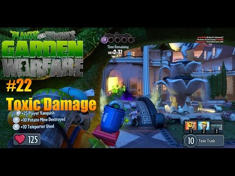 Plants Vs Zombies : Garden Warfare - #22 - Toxic Damage