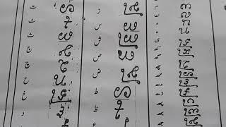Kachhi m lipi fonts hajibha (Urdu)