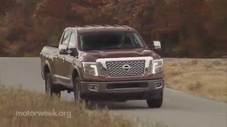 MotorWeek | Road Test: 2016 Nissan Titan XD(Join us as we get to work on the V8 turbo-diesel Nissan Titan XD! Check out more at http://www.MotorWeek.org Follow us on Twitter: ..., 2016-01-27T17:40:24.000Z)