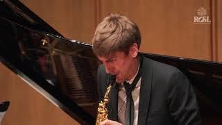ROSL Annual Music Competition Gold Medal Final Jonathan Radford Karen Khachaturian Violin Sonata 3rd