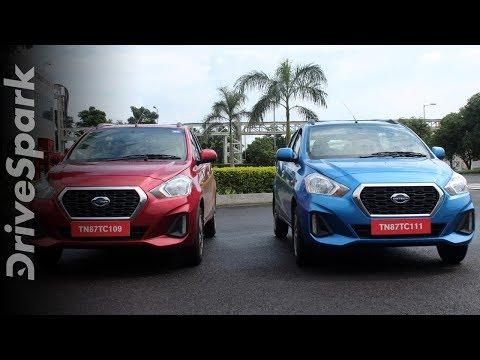 Datsun GO & GO+ CVT Review | Datsun GO & GO+ CVT Design, Interiors, Performance & Features