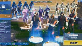 16 RARE Exclusive Skins Join a PUBLIC MATCH in Fortnite... (Most Expensive Lobby)