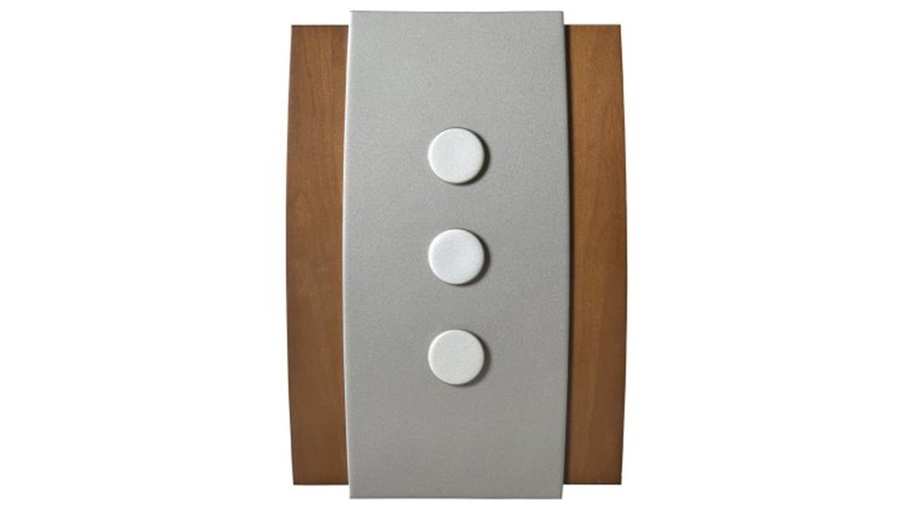 Honeywell Decor Wired Door Chime (RCW3504N1001) - YouTube