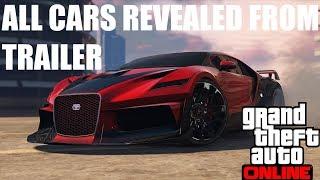 GTA 5 CASINO DLC ALL CARS REVEALED IN TRAILER