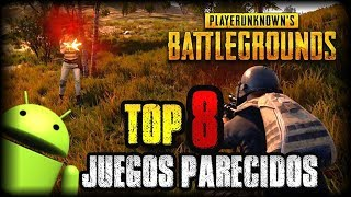 TOP 8 MEJORES JUEGOS ESTILO PLAYERUNKNOWNS BATTLEGROUNDS (PUBG) PARA ANDROID - APK