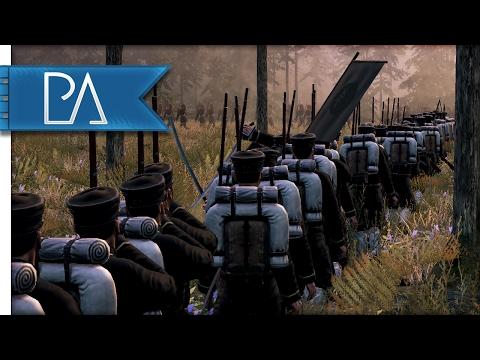 Explosive Ambush Battle: Slaughter in the Forest - Total War: Shogun 2 Fall of the Samurai Gameplay