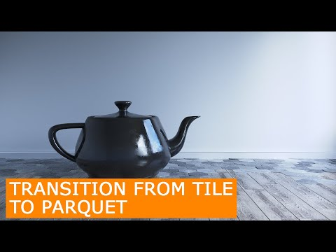 Tile To Wood Floor Transition  Corona Render & 3Ds Max   Tutorial Floor Generator