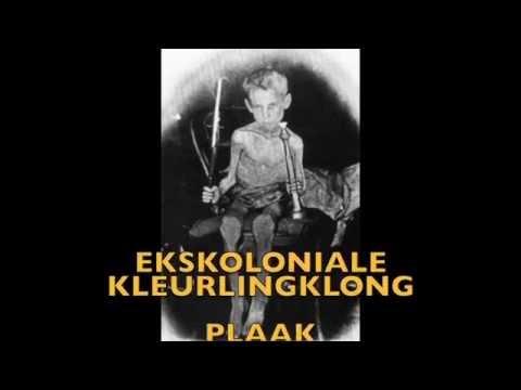 EKSKOLONIALE KLEURLINGKLONG- afrikaanse musiek – PLAAK 2005