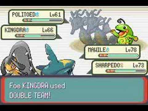 how to make the rematch in pokemon emerald