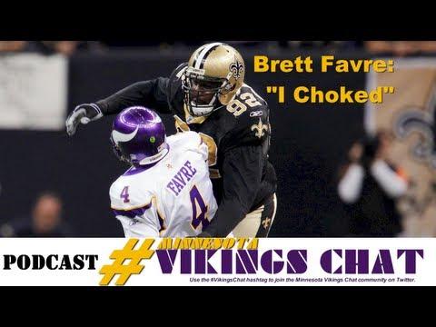 "Sage Rosenfels: Brett Favre Said ""I Choked"""