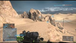 Battlefield 4- Gameplay Sniper L115 (PS3)