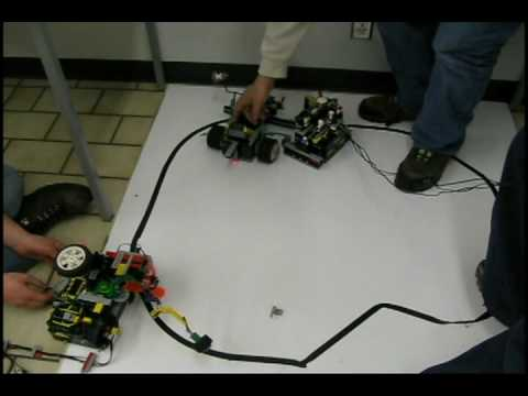 Robot Wars at the College of New Caledonia