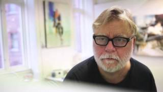 Akvarellkonstnären Lars Eje Larsson