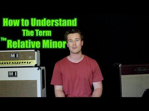 Understanding Relative minor Key Signatures and Scales