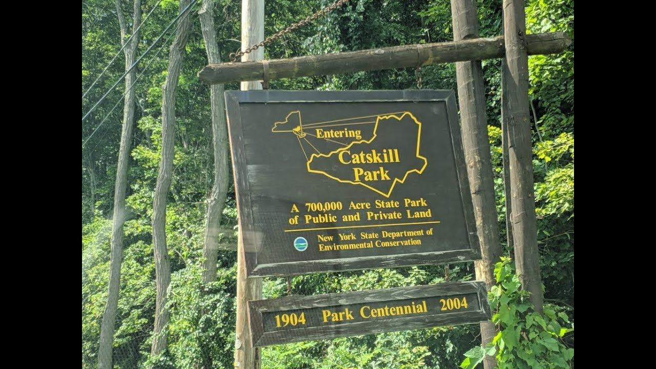 Camping Trip Catskills NY day 1 - YouTube
