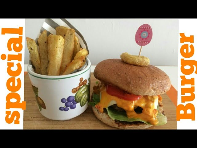 Amazing burger with home made special sauce....