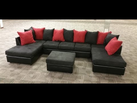Double Chaise Sectional Sofa : double chaise sectional couch - Sectionals, Sofas & Couches
