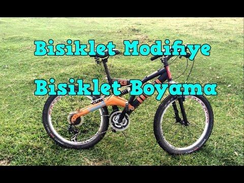 Bisiklet Modifiye Bisiklet Boyama Salcano Efes 24 Modifiye