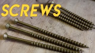Screws: What You Need to Know