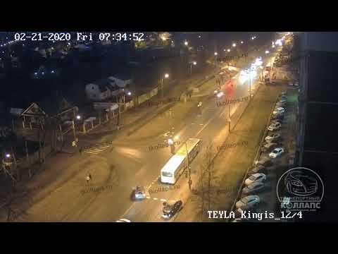 Авария в Красном Селе 21.02.20