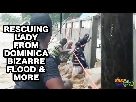 SERIOUS FLOODING IN DOMINICA 2018(Nov 10)