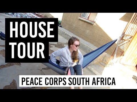 HOUSE TOUR! // Peace Corps South Africa