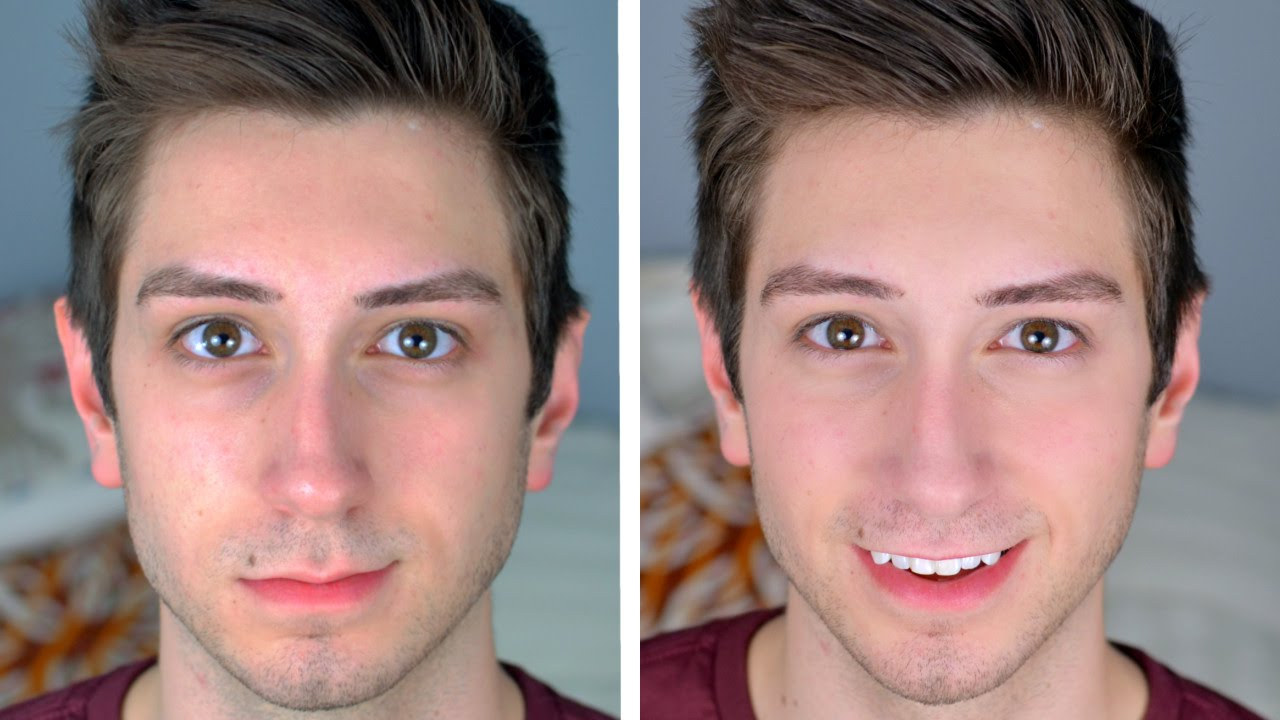 "Natural ""No Makeup"" Makeup Tutorial for Men"
