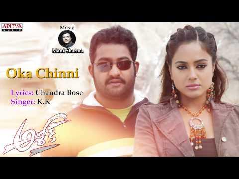 Oka Chinni Full Song ll Ashok Movie ll Jr.Ntr, Sameera Reddy
