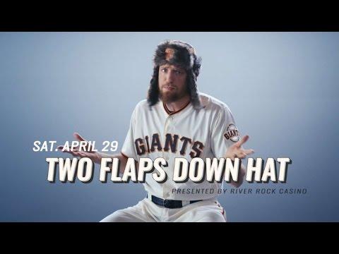 Two Flaps Down Hat - Sat. April 29