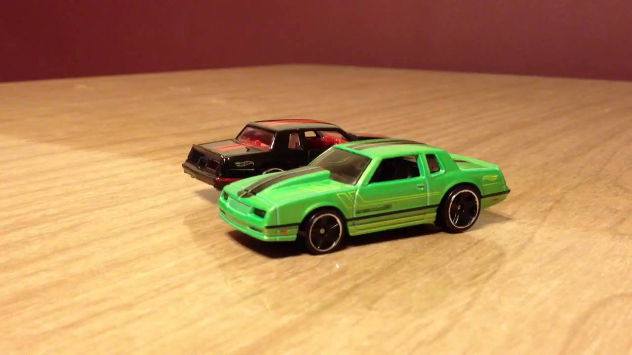 Hot Wheels 2015 Recolor Update - '86 Monte Carlo SS - YouTube